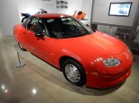 The EV1, the first mass-produced electric car. Only 40 left undestroyed.