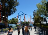 Scream was handy for a nearby first coaster