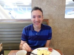 Breakfast at LAX