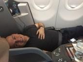 Lie-down seats too!