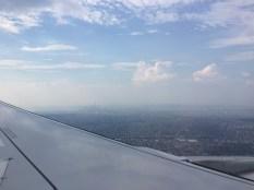 A clearer shot of Manhattan, but still distant