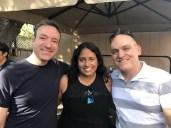 Larry, Rekha & me