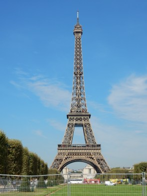 The beautiful Eiffel Tower