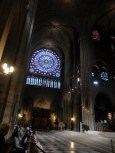 View of the Rose Window