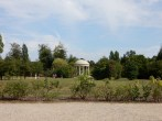 View from the Petit Trianon patio towards the Temple de L'amour