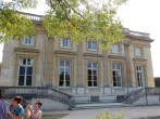 The rear of the Petit Trianon