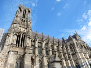 Part of the day was to visit the Reims Cathedral