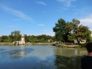 We made our way then to the really Disney section of the Petit Trianon grounds