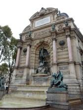 Fountain at Saint-Michel