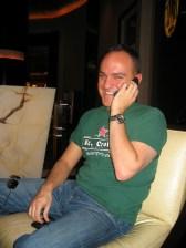 Me talking to ol' pal Laryssa