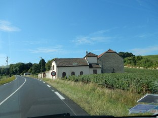 Off into the French countryside of the Champagne region