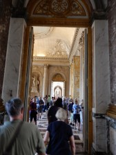 Our tour took us through the crowded rooms on display at the palace