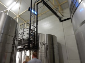 Got to see a bit more of the modern realities of making champagne