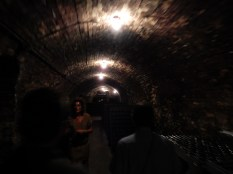 Champagne makers do like their mysterious tunnels though