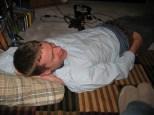 Kyle on my floor