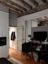That's the door towards the main door as well as the toilet