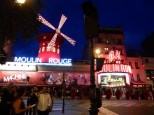 And yes, the Moulin Rouge!