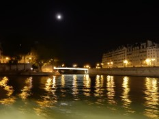 Looking toward the Pont d'Arcole which goes to Ile de la Cite