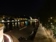 On solid ground again and looking east at the Seine from atop Pont Neuf