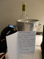 Heck yeah, wine!