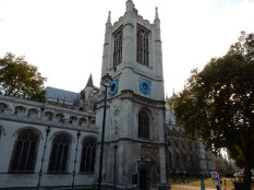 Westminster Abbey, from the side