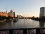 Looking south on the Thames towards the MI6 headquarters