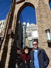 At the Brooklyn Bridge!