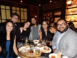 met up with Rekha's friends at the Chestnut Club