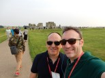 And here we are - we made it to Stonehenge