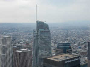 The new Grand Wilshire - only the spire makes it taller than U.S. Bank