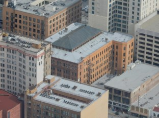The Bradbury Building from above - more on that later