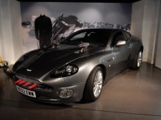Bond's Aston Martin V12 Vanquish from Die Another Day