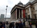 and we were about to go into the National Gallery