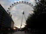 ooooo, dramatic shot of the London Eye