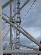 The London Eye has a spectacular perspective of London