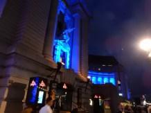 The Aquarium all lit up