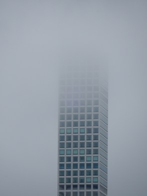 432 Park is super tall - and was lost in clouds today
