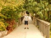 Larry loved that bridge