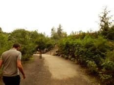 Back at the Lower Falls trailhead