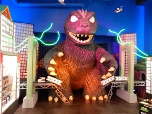 Godzilla's not messing around