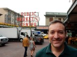 At the famous Pike Place Market