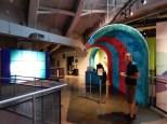 Entrance to the Jim Henson exhibit