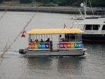 The Aquabus and its kind are all over the False Creek area