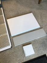 Love the new backsplash tile we chose