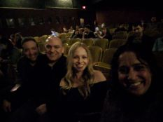 Larry, me, Nicki and Rekha at the Largo