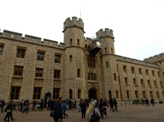 The entrance to the Crown Jewels