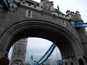 We decided to walk across the Tower Bridge
