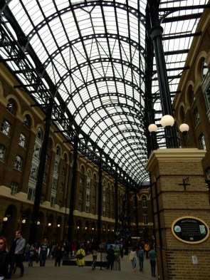 Hay's Galleria - it just looks really cool