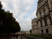 Walking towards the Horse Guards Building