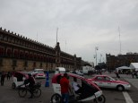 The Zocalo is the main historical center of the city